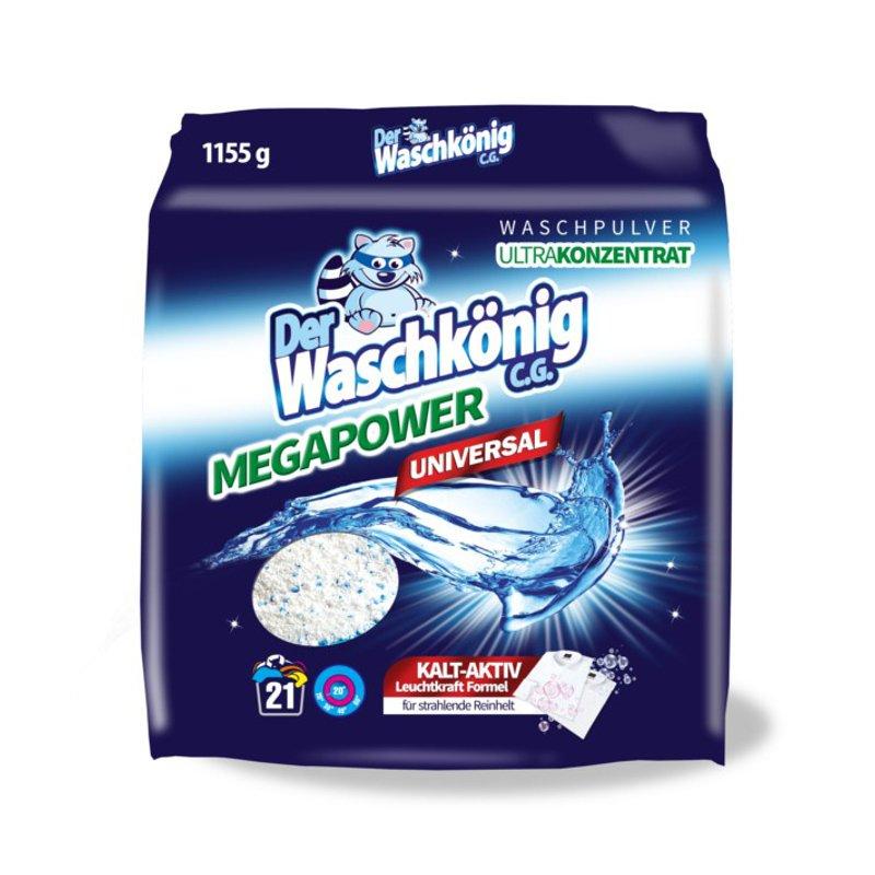Proszek do prania-Der Waschkönig C.G. MegaPower Universal 1155 g