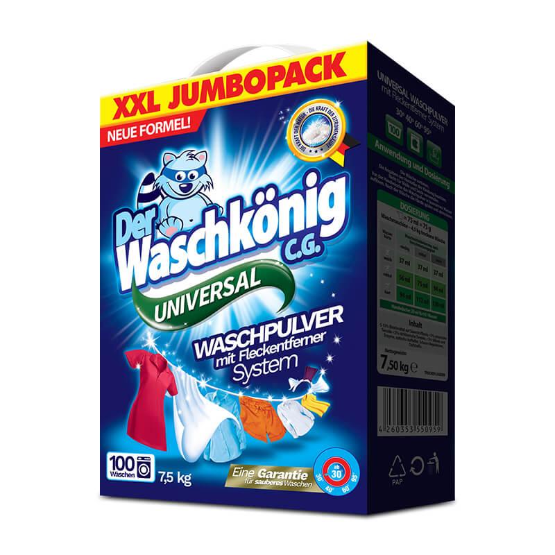 Proszek Der Waschkönig C.G. Universal 7,5 kg