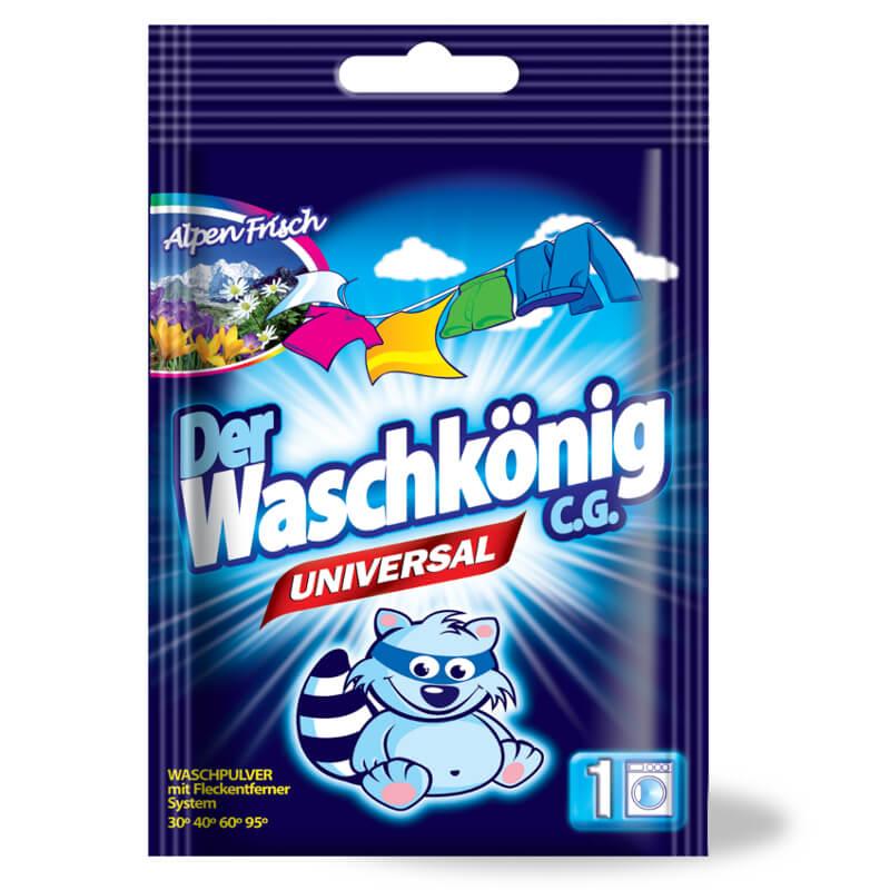 Proszek do prania Der Waschkönig C.G. Universal 83 g