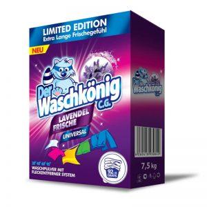 Proszek do prania Der Waschkönig C.G. Lavendel Frische Universal 7,5 kg