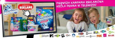 Waschkonig - debiut Króla Prania w telewizji