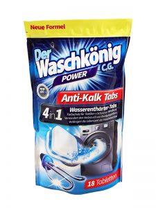 Tabletki odkamieniające do pralki Der Waschkönig C.G.