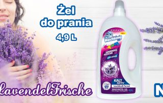 Nowość w ofercie - żel do prania Waschkonig Lavendel Frische
