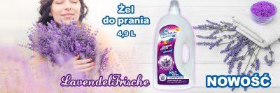 Nowość w ofercie - żel do prania Der Waschkönig C.G. Lavendel Frische