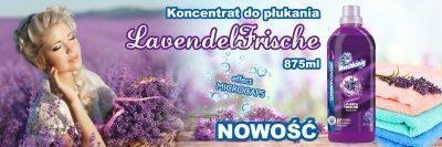 Nowość w ofercie - superkoncentrat do płukania Der Waschkönig C.G. Lavendel Frische