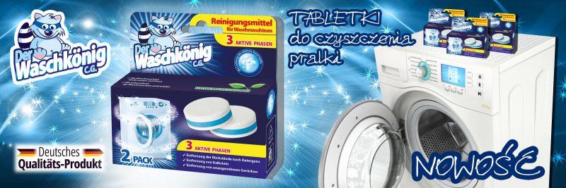 Nowość w ofercie - tabletki do czyszczenia pralki Waschkonig