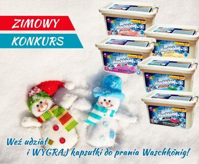 Zimowy konkurs od Króla Prania