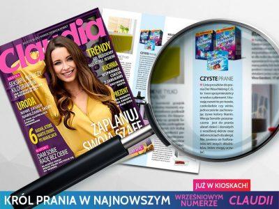 Informacja o marce Waschkonig w najnowszym numerze magazynu Claudia